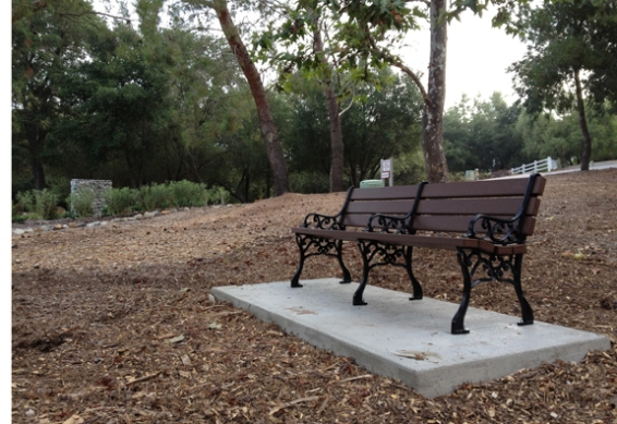 Via Alondra Bench
