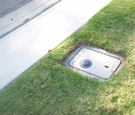 how to turn off water meter at street